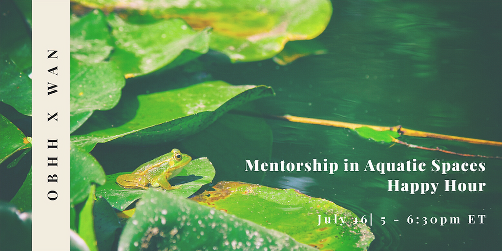 The Circle of Mentoring: Leveraging mentoring to build an aquatic career