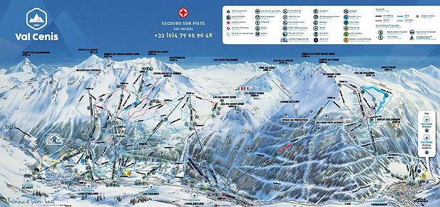 le domaine skiable de valcenis est parfait pour un week end de ski en groupe
