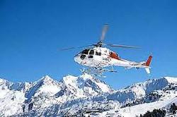 Activité séminaire ski : hélicoptère