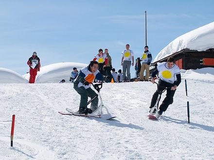 jeux de neige par equipe