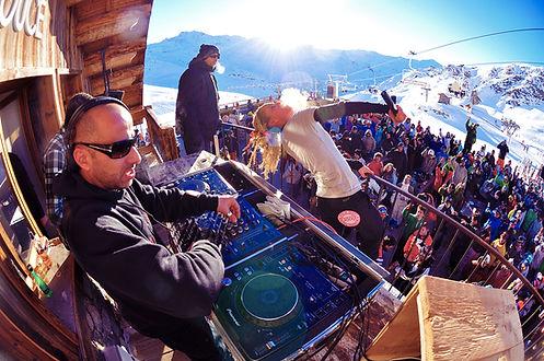 apres ski à la folie douce pour votre week end ski en groupe ou séminaire d'entreprise à la montagne