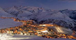 L'Alpe d'Huez la nuit