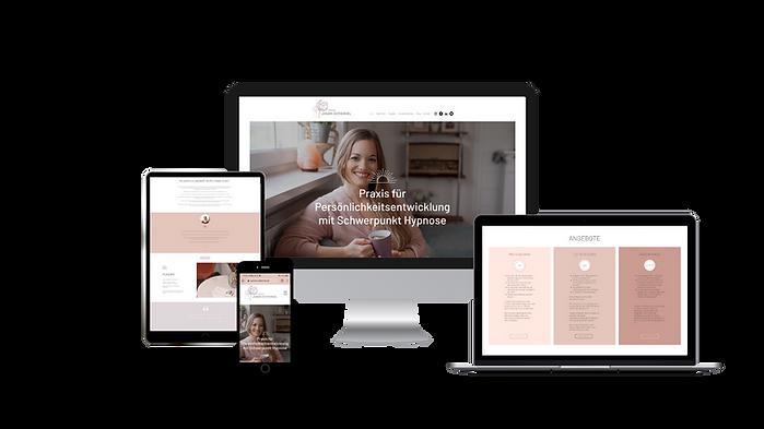 Wix Website erstellen lassen - Virtual Business Consulting - Miriam Santos - Referenz Webseite auf Basis von Wix