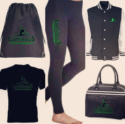 Accessories and clothing idea for travelling to and from class in at LDA