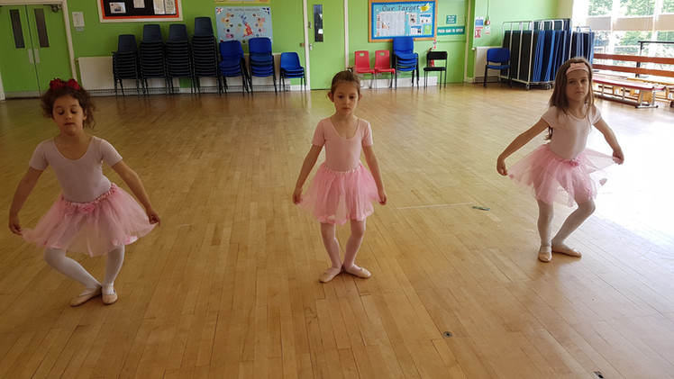 Lots of plies in ballet today at LDA