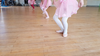 Plies in our Primary Ballet class