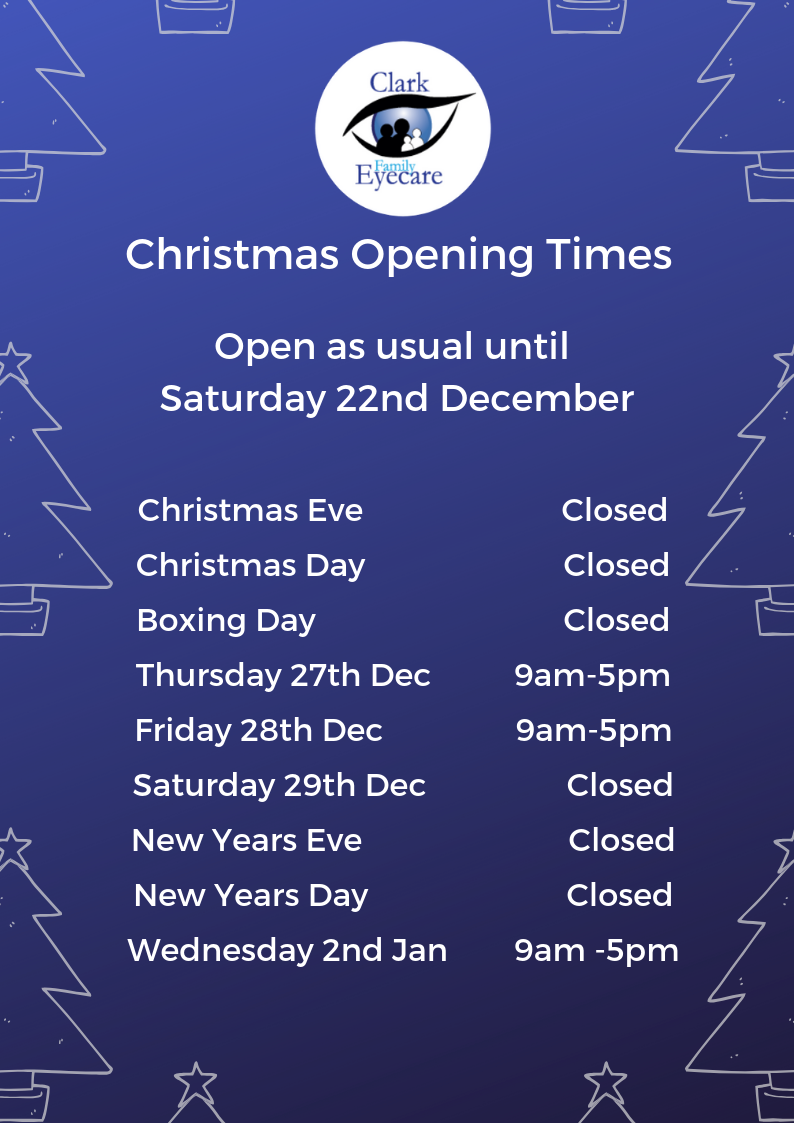 Clar Family Eyecare Christmas opening 2018