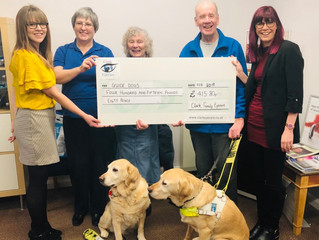 Nana and Ozzie Grateful For Donington Donation