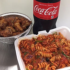 Wing & Pasta Deal