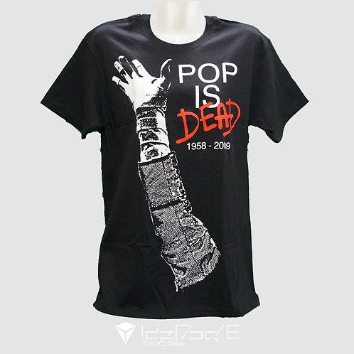 マイケルジャクソン POP IS DEAD Tシャツ