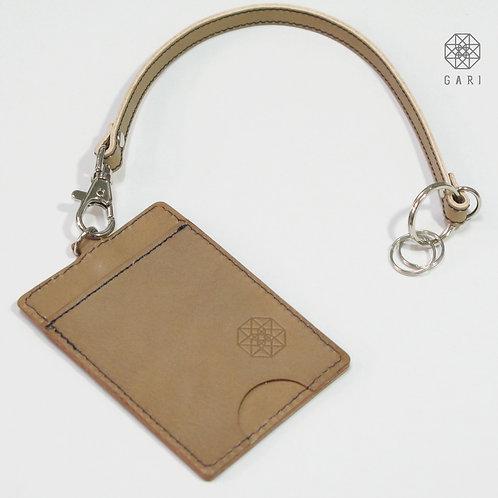 GARI ストラップ付きパスケース【本革】
