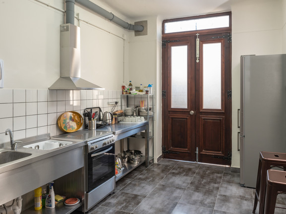 our modern and fully functional kitchen