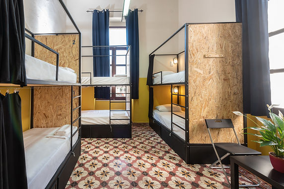 six bed mix dorm Intra Muros Hostel