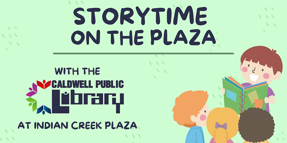 Summer Storytime on the Plaza