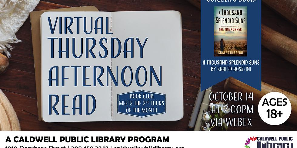 Virtual Thursday Afternoon Read October 2021