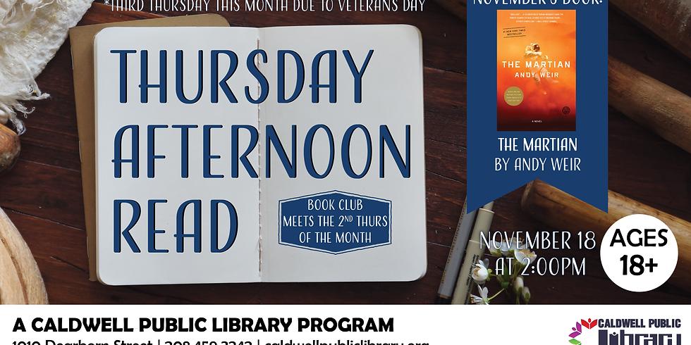 Thursday Afternoon Read November 2021