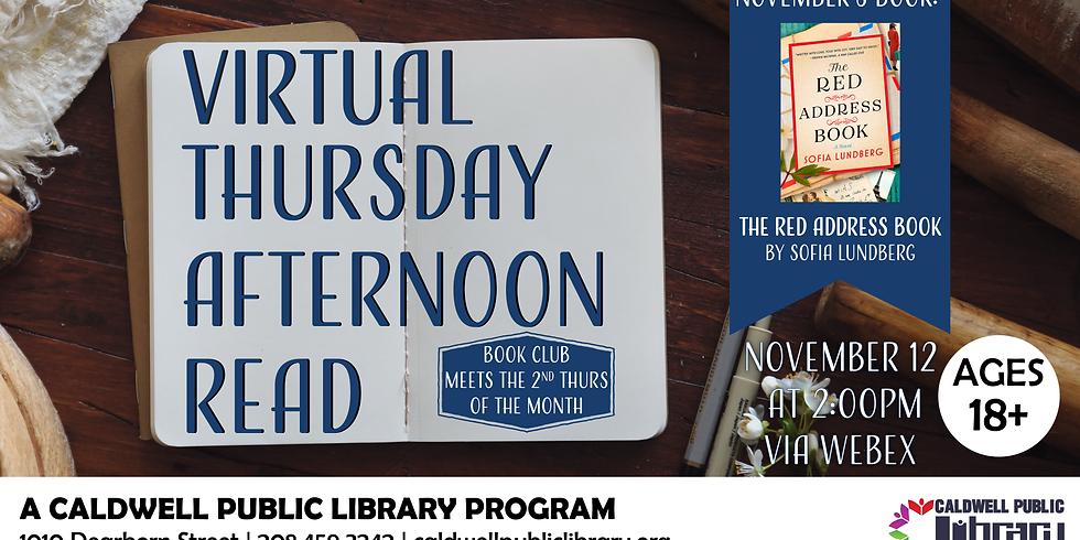 Virtual Thursday Afternoon Read November