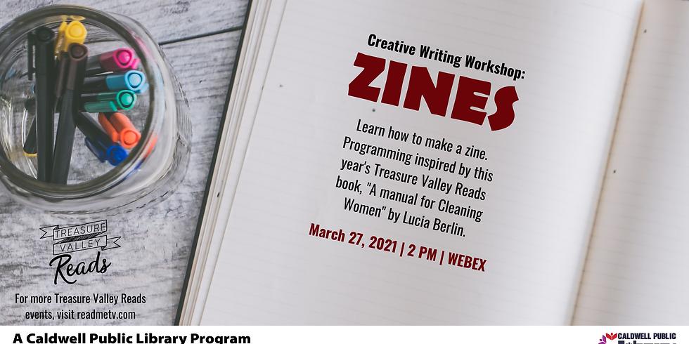 Creative Writing Workshop: Zines