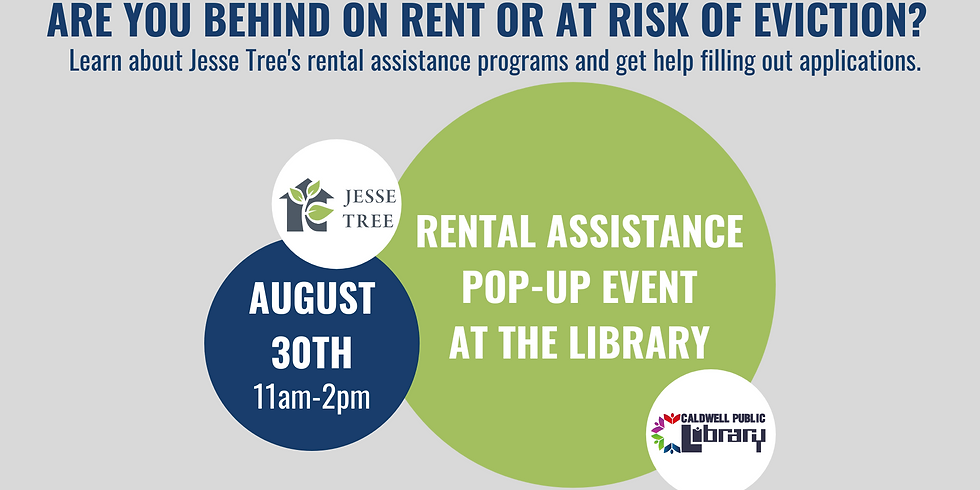 Rental Assistance Pop-Up Event with Jesse Tree