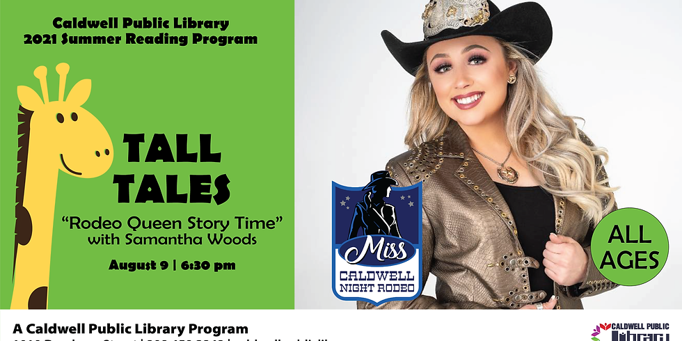 Rodeo Queen Storytime