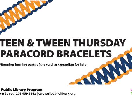 Tween and Teen Kit: Paracord Bracelets