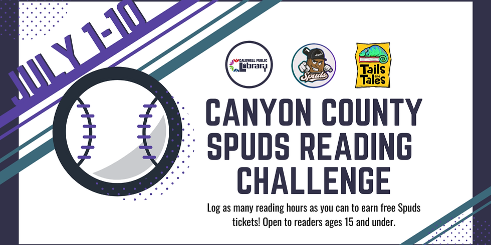 Canyon County Spuds Reading Challenge