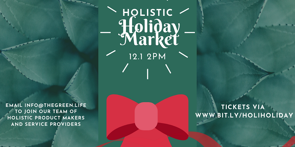 Holistic Holiday Market