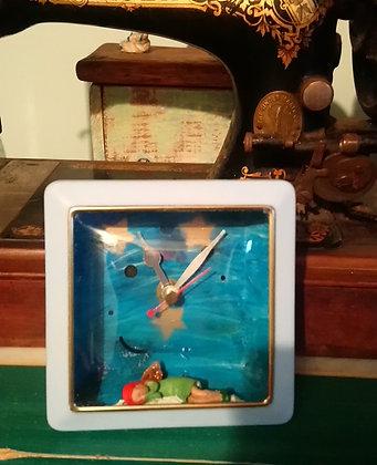 Square Fairy Clock DTA