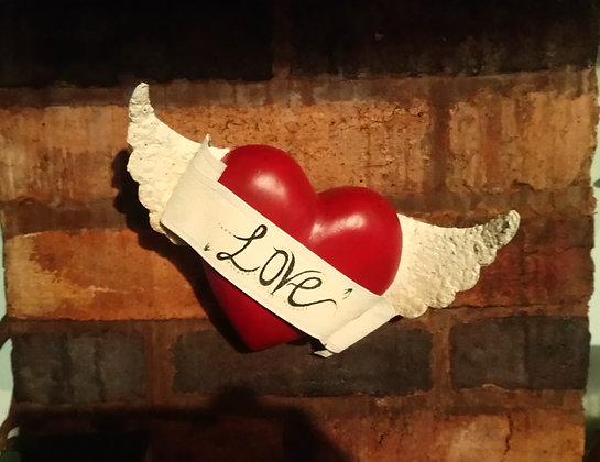 Flying Love Heart. DTA