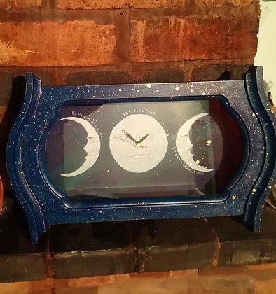 Moon Phase Clock. DTA