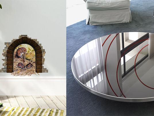 Тенденции дизайна 2018: захватывающие дух иллюзии