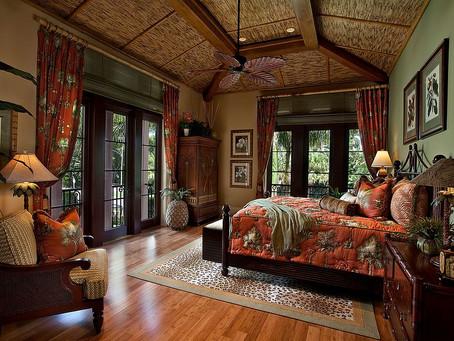 Лучшие идеи для тропических спален: красочные, уютные и модные!