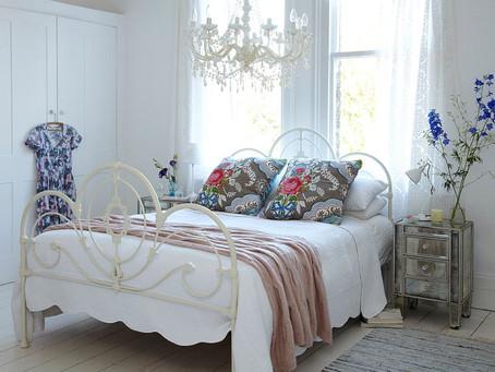 Восхитительные спальни в стиле шебби шик
