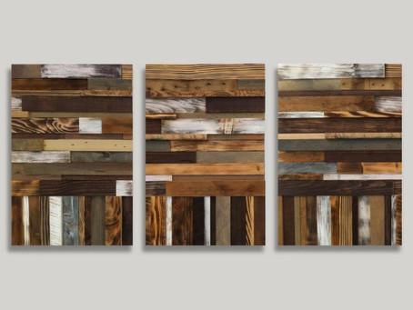 Креативные настенные панно из дерева