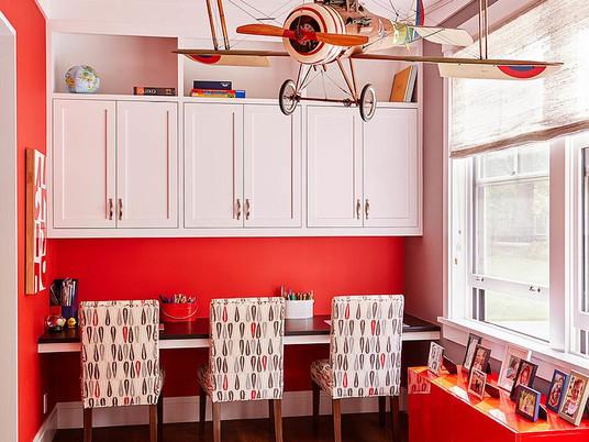 Умные решения: детские комнаты с местом для учебы