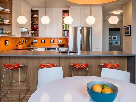 Весенние тенденции 2018 года в дизайне кухни