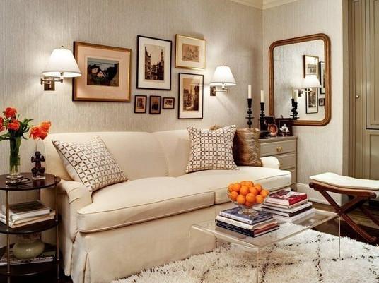 Классический дизайн для небольшой квартиры