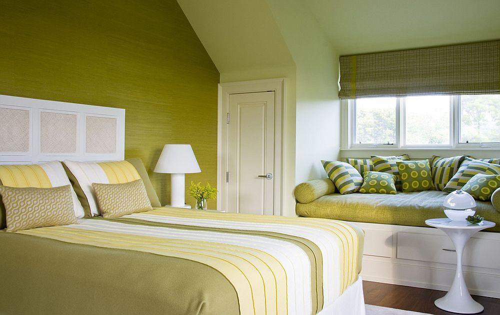 желтый и зеленый