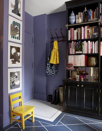 Фиолетовый + Ярко-желтый