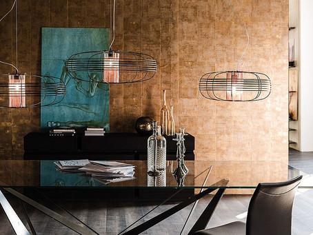 Элегантный, текстурный и геометрический контраст в освещении