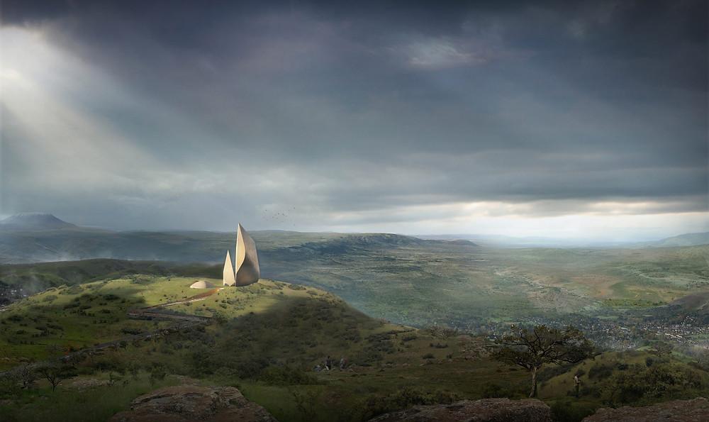 Ngaren-музей-истории-человечества-кения-найроби-архитектура