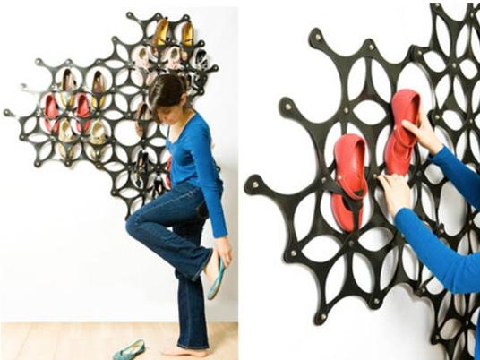 Лучшие креативные идеи для хранения обуви