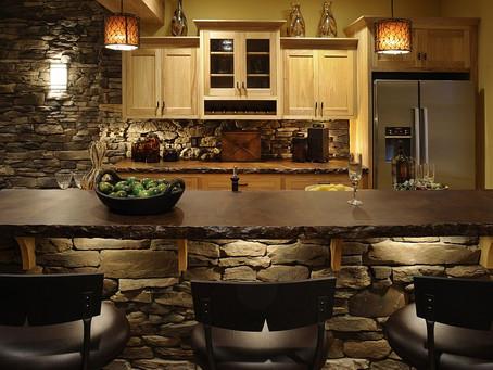 Каменные стены для вашей кухни