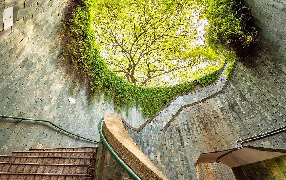 Fort-Canning-Park-Сингапур