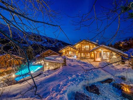 Альпийская экстравагантность: взгляд на одно из роскошных шале Франции