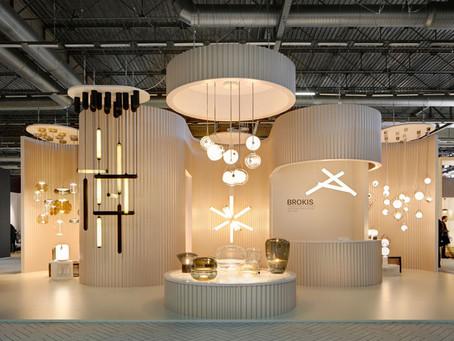 Лампы-трубки Puro из выдувного стекла ручной работы от Brokis