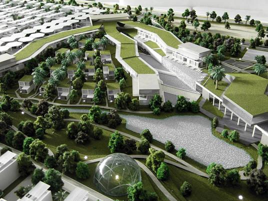Зеленый город в пустыне - Дубай (Dubai)