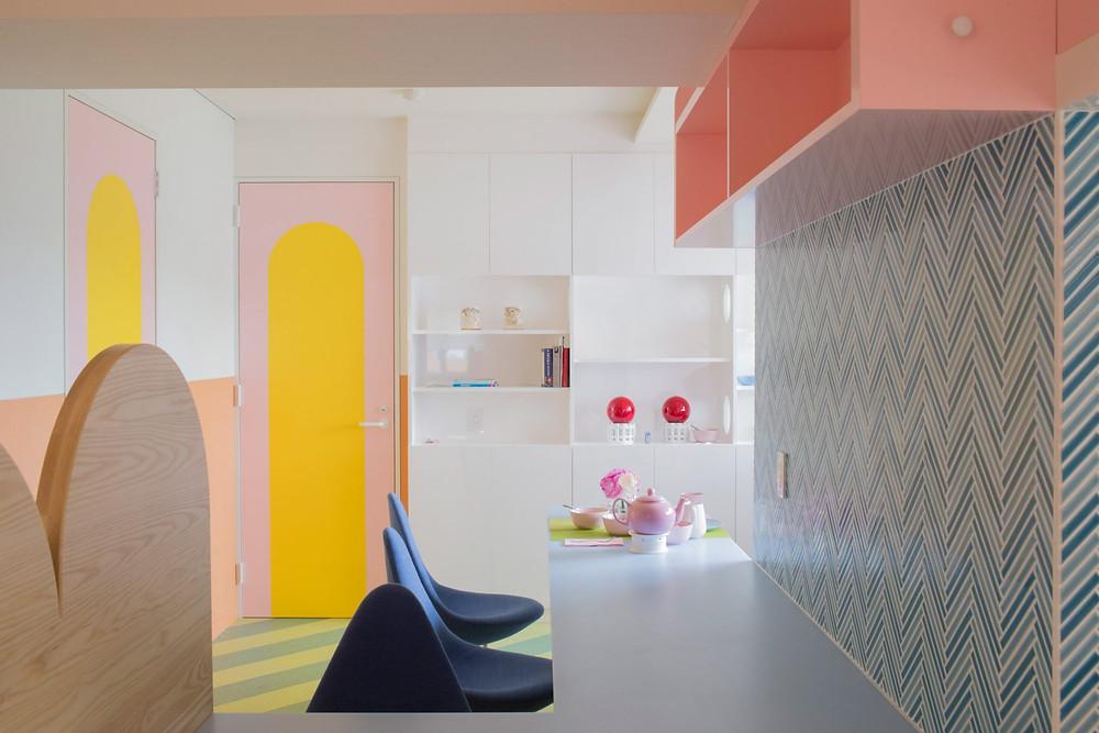 дизайн-интерьера-nagatacho-токио-адам-фурман-дизайн-квартиры