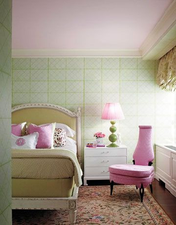 Бледно-зеленый + Розовый