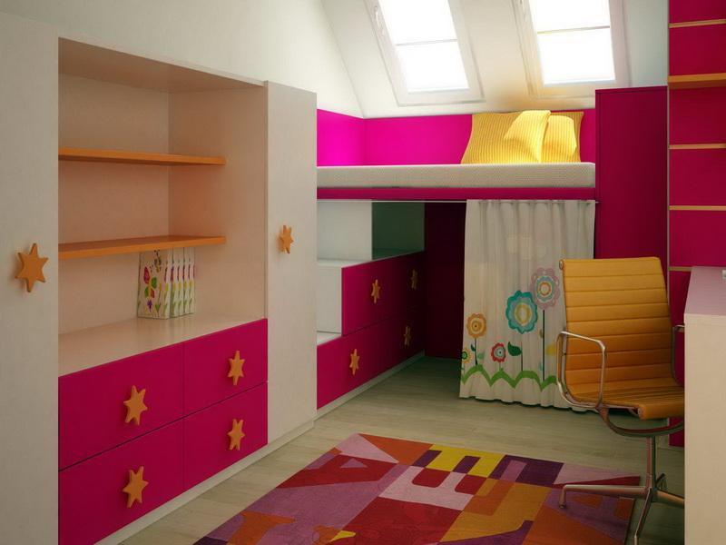 дизайн-интерьера-детская-комната